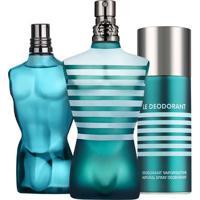 Kit Le Male (Perfume 75Ml + Desodorante + Pós Barba) 75 Ml