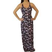 Vestido Longo Tropic Heat Billabong - Feminino-Preto