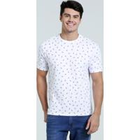 Camiseta Masculina Estampa Pássaros Marisa