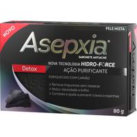 Sabonete Asepxia Detox Antiacne 80G