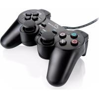 Controle Multilaser Dual Shock Para Pc Js030 Preto