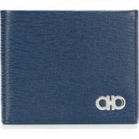 Salvatore Ferragamo Porta-Cartões Com Logo - Azul