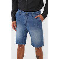 Bermuda Jeans John John Reta Desfiada Azul