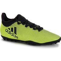 Chuteira Society Adidas X 17 3 Tf - Amarelo