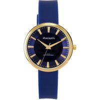Relógio Akium Feminino Borracha Azul - Tml7197 - Blue