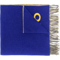 Polo Ralph Lauren Cachecol Oversized Com Logo - Azul