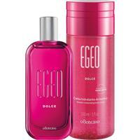 Combo Egeo Dolce: Des. Colônia + Calda Hidratante