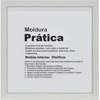 Moldura Decora 20X20 Branca