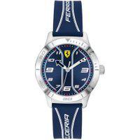 Relógio Scuderia Ferrari Infantil Borracha Azul - 810026