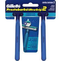 Aparelho De Barbear Descartável Gillette Ultragrip 2 C/ 2 Unidades