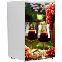 Adesivo Sunset Adesivos De Frigobar Envelopamento Porta Vinho E Uvas