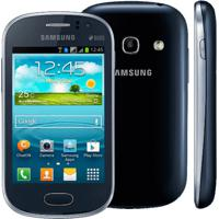 "Smartphone Samsung Galaxy Fame Duos S6812 Azul - 5Mp - Android 4.1 - 3.5"" - 4Gb - Dual Chip - 3G"