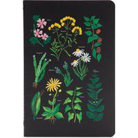 Caderneta Meu Pequeno Jardins Pontado - Preto