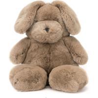 Yves Salomon Enfant Mochila Em Forma De Urso - Marrom