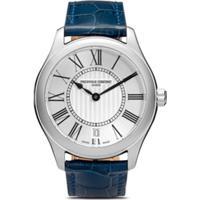 Frederique Constant Relógio Com Numeral Romano - White