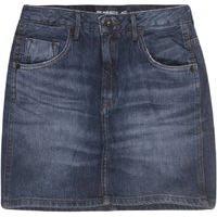 Mini Saia Jeans Stone Esc