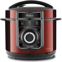 Panela De Pressão Elétrica Philco Ppp02Vi, Multifuncional, Vermelha - 220 Volts