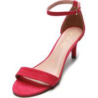 Sandália Via Uno Color Pink
