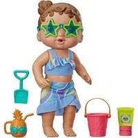 Boneca Baby Alive Bebê Sol E Areia Com Acessórios - Unissex-Incolor