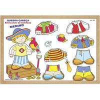 Quebra Cabeça- Branco & Amarelo- 9Pçs- Carlucarlu
