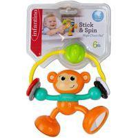 Brinquedo Interativo Infantino Macaco De Atividades Com Sucçáo Na Base