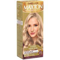 Tintura Creme Maxton 12.01 Louro Extra Claro Platina Com 1 Unidade 1 Unidade