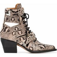 Chloé Ankle Boot Rylee - Neutro
