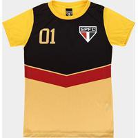 Camisa São Paulo 100 Gols Feminina - Feminino
