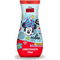 Condicionador Minnie Mouse Icon Tratamento Cachos + Perfeitos Brilho Maciez Fios 500Ml