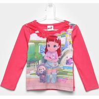 Blusa Infantil Brandili Rainbow Ruby - Feminino