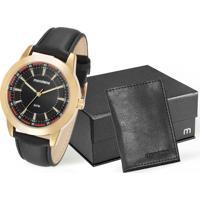 Kit Relógio Masculino Mondaine 53516Gpmvdh1K
