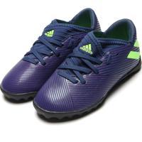 Chuteira Adidas Performance Menino Nmz Messi 19 3 Tf Jr Azul