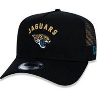 Boné New Era 940 Jacksonville Jaguars Nfl Aba Curva - Masculino