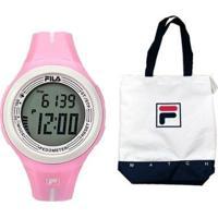 Relógio Fila Pedometro Active Com Bolsa - Feminino