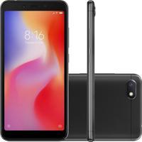 Smartphone Xiaomi Redmi 6A 32Gb 2Gb Ram Versão Global Desbloqueado Preto