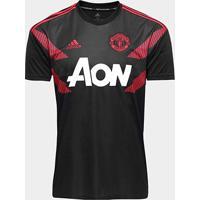Camisa Manchester United Pré-Jogo 2018 Adidas Masculina - Masculino