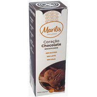 Biscoito Coração De Chocolate Marilis 100G