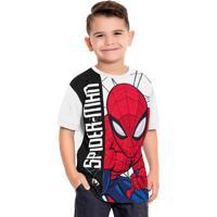Camiseta Spider-Man Branco