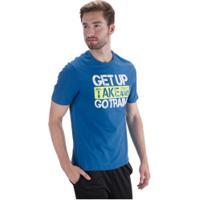 Camiseta Oxer Go Train - Masculina - Azul