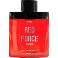 Perfume Masculino Red Force Ng Parfums Eau De Toilette 100Ml - Masculino-Incolor