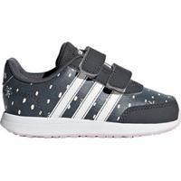Tênis Infantil Adidas Vs Switch 2 Feminino - Unissex-Chumbo+Branco