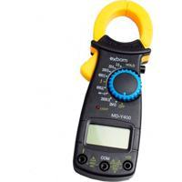 Alicate Amperímetro Exbom Profissional Md-Y400 Preto/Amarelo
