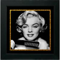 Quadro Decorativo Marilyn Ll Preto