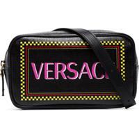 Versace Pochete Com Logo - Preto