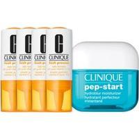 Kit Facial Clinique Fresh Pressed Vitamina C + Hidratante Pep Start Hydroblur