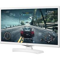 Monitor Tv 24 Lg 24Mt48Df-Ws Led - Hd - Hdmi - Video Player Usb - Branco - Conversor Digital Integrado