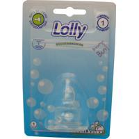 Bico Lolly Baby Oceano Silicone Ortodôntico Ref: 0063