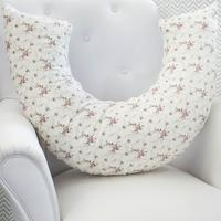 Almofada De Amamentação Laura Baby - Floral Ferrugem