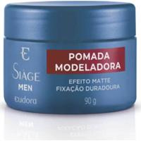 Pomada Eudora Men Modeladora - Azul - Masculino - Dafiti