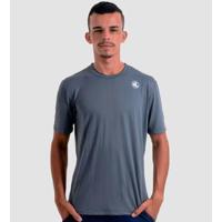 Camisa Esporte Legal Poliamida Lisa Uv45+ Masculina - Masculino